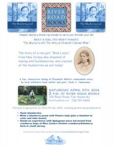 River Road Books April 5th